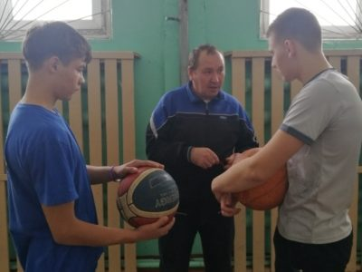 Районные соревнования по баскетболу
